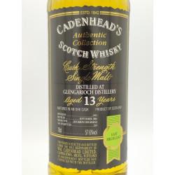 Distilled at Glengarioch...